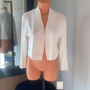 NWT Calvin Klein white sweater